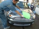 6.塗膜表面の油膜を脱脂するために再度洗車