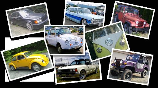 スタッフ所有のノスタルジックカーたち
